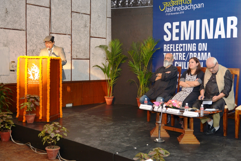 Seminar reflects various challenges in childrens theatre