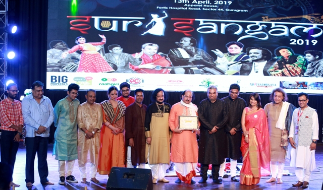 Sur-Sangam - A Cultural Colossal 2019 Left The audience mesmerized in Gurgaon
