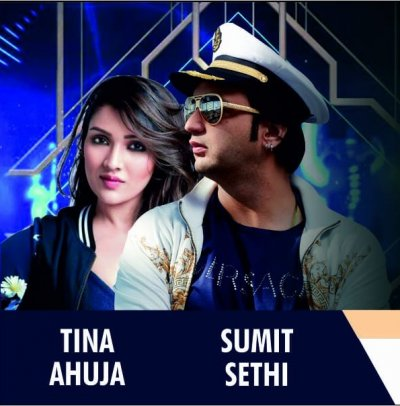 AFTER DABANGG TOUR, DJ SUMIT AT CHANDIGARH UNIVERSITY WITH TINA AHUJA