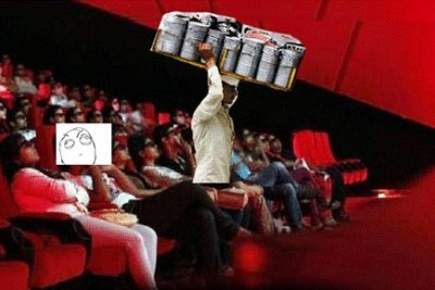 Creative netizens chide Governments statement on outside food in Cinema Halls