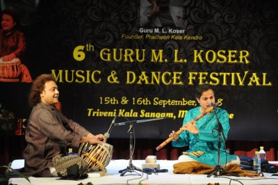 6th Guru M.L. Koser festival of Music  Dance Concludes with  soothing Sitar  outstanding Bharatnatyam presentations