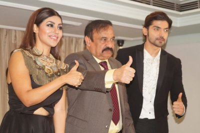 Celebrity couple Gurmeet Choudhary  Debina Bonnerjee at Country Club India's special New Year Celebration Launch!