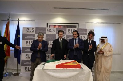 BLS International inaugurates Spain Visa Application Center  in Riyadh, Saudi Arabia